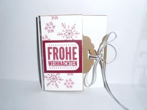 1. Weihnachtskarte