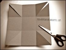 Box diagonal einschneiden