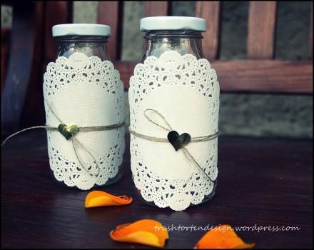 Minimilchflaschen