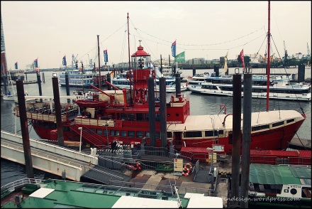 Schiff Hafen Hamburg