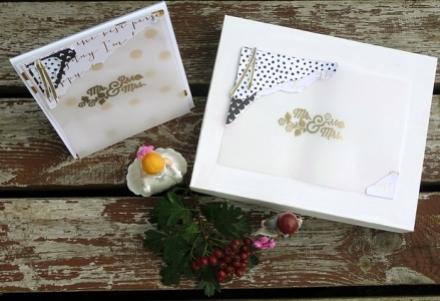 Hochzeitserinnerungsbox