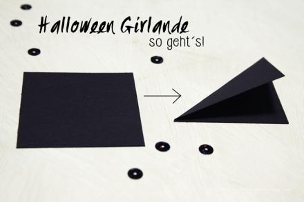 Halloween Girlande