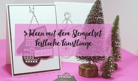 many smittens_Stempelset_Festliche Fäustlinge_Stammpin´up_Basteln